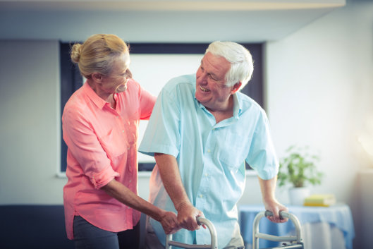 Injured Senior Adults Need Home Support